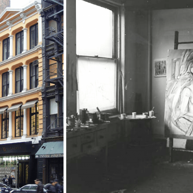 From Willem de kooning's loft to the threat of the wrecking ball: The history of 827-831 Broadway