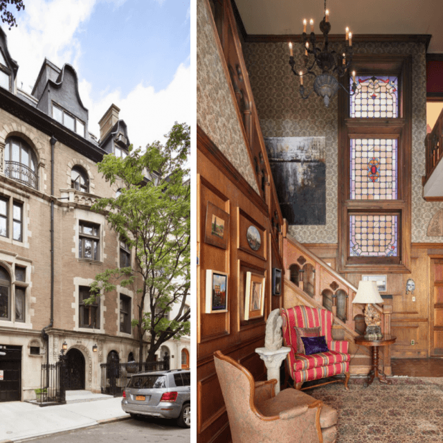 Bought in the '70s for $170K, showbiz couple's massive Upper West Side townhouse asks $20M
