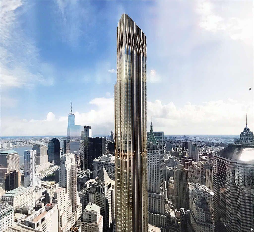 Manhattan Streets: New Renderings Of Lower Manhattan's Second Tallest Tower