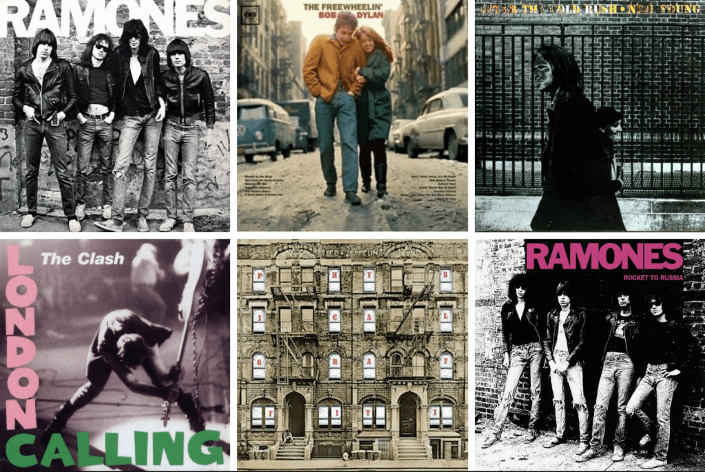 iconic album covers of greenwich village and the east village then