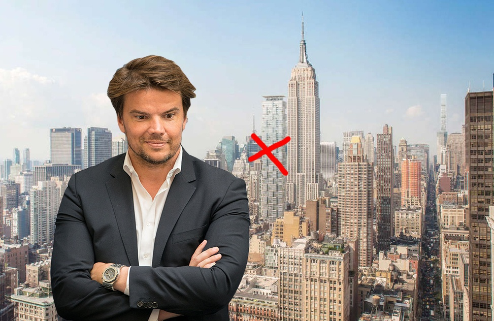 hfz capital group taps bjarke ingels to design 33 floor office tower in nomad 6sqft. Black Bedroom Furniture Sets. Home Design Ideas