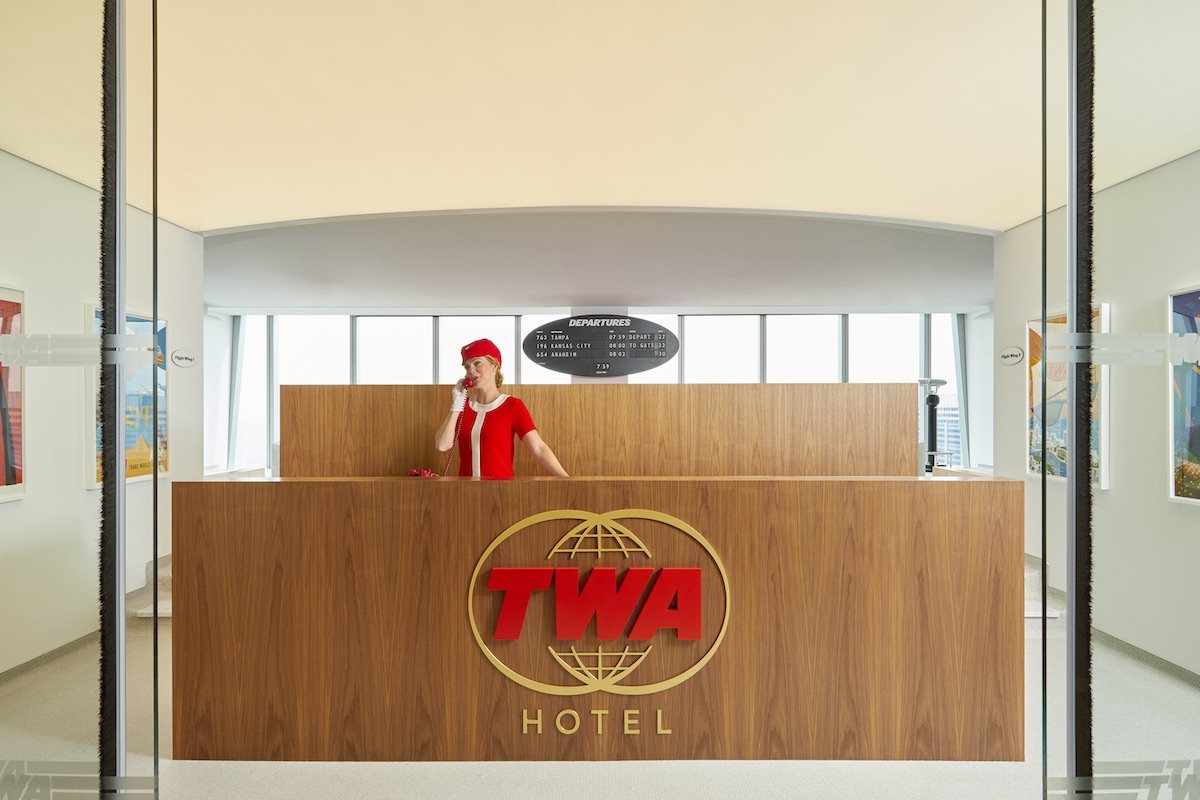 Lubrano Ciavarra Architects, Jet Age architecture, TWA One World Trade Center, Eero Saarinen TWA, TWA Lounge, TWA Hotel, MCR Development
