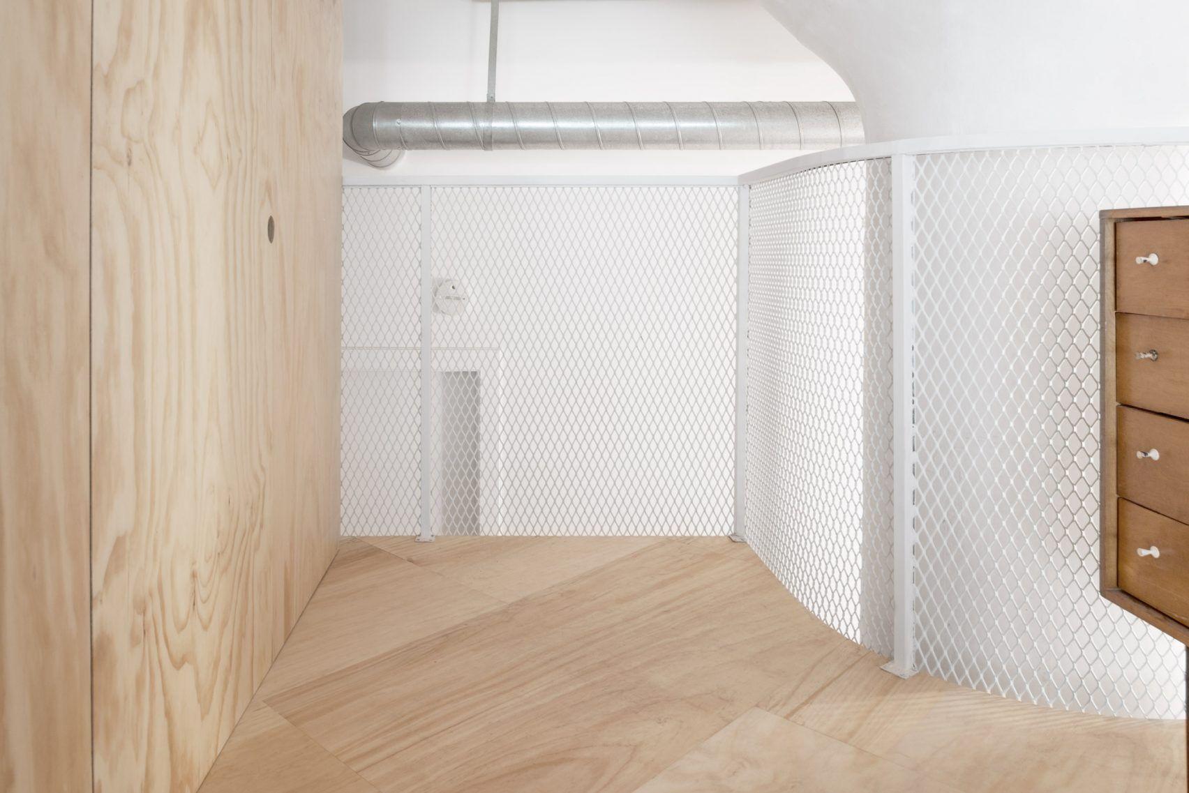 New Affiliates, Bed-Stuy, loft renovation, plywood