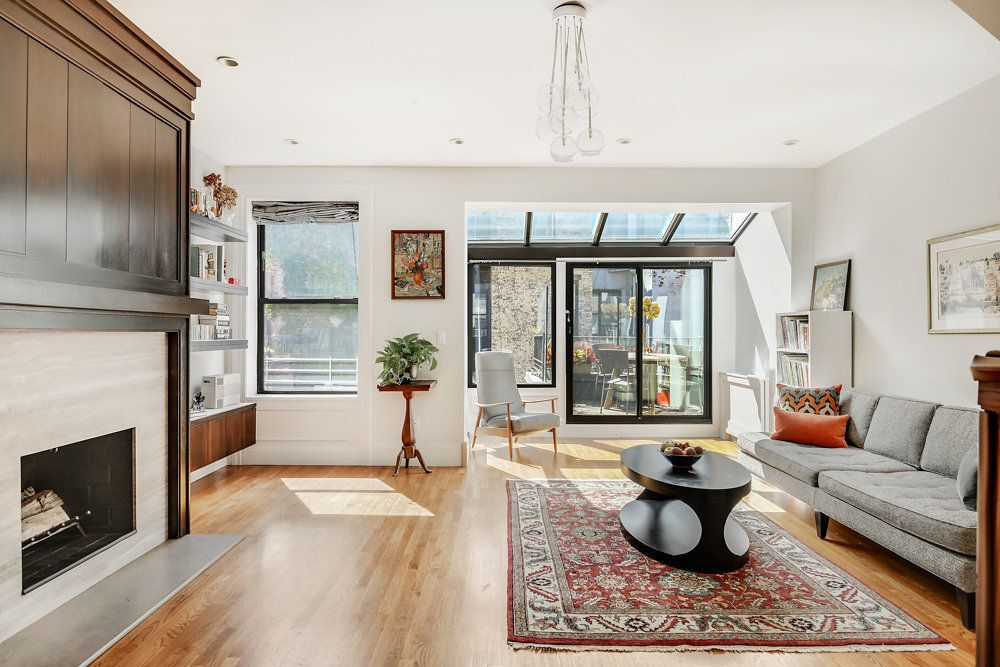 For 3 65m An Upper West Side Brownstone Duplex With A