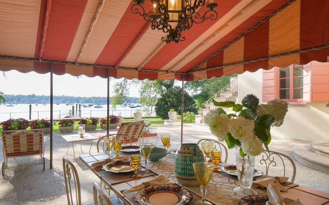 1411 Flagler Drive, Mamaroneck, Houlihan Lawrence, spanish Mediterranean mansion
