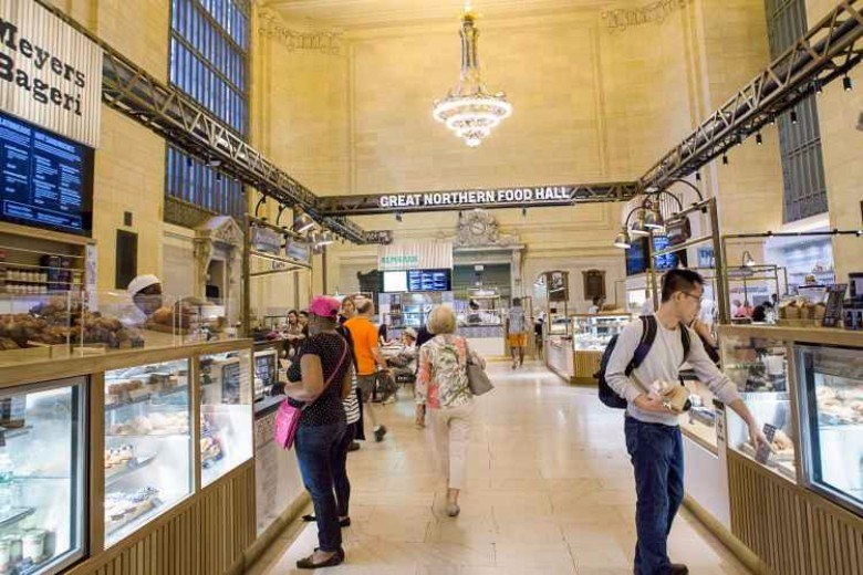 great northern food hall, grand central terminal, food halls nyc