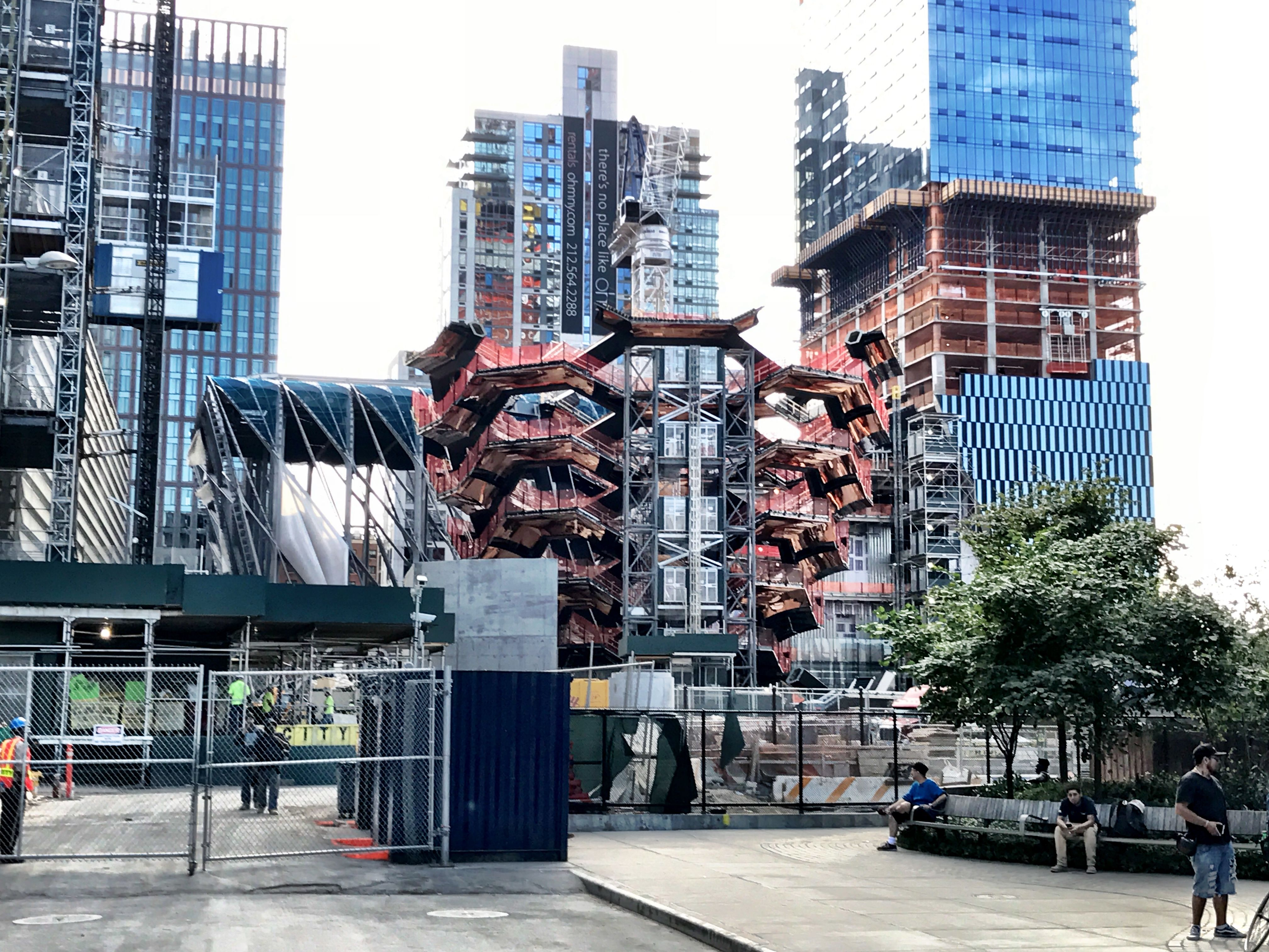 hudson yards, the vessel, thomas heatherwick