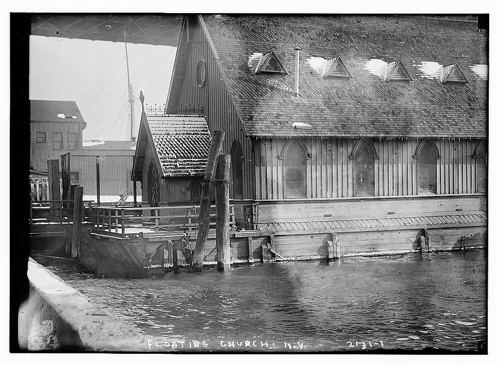 floating church, nyc history, seamen's church institute