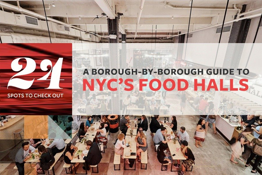 A borough-by-borough guide to NYC's food hall frenzy