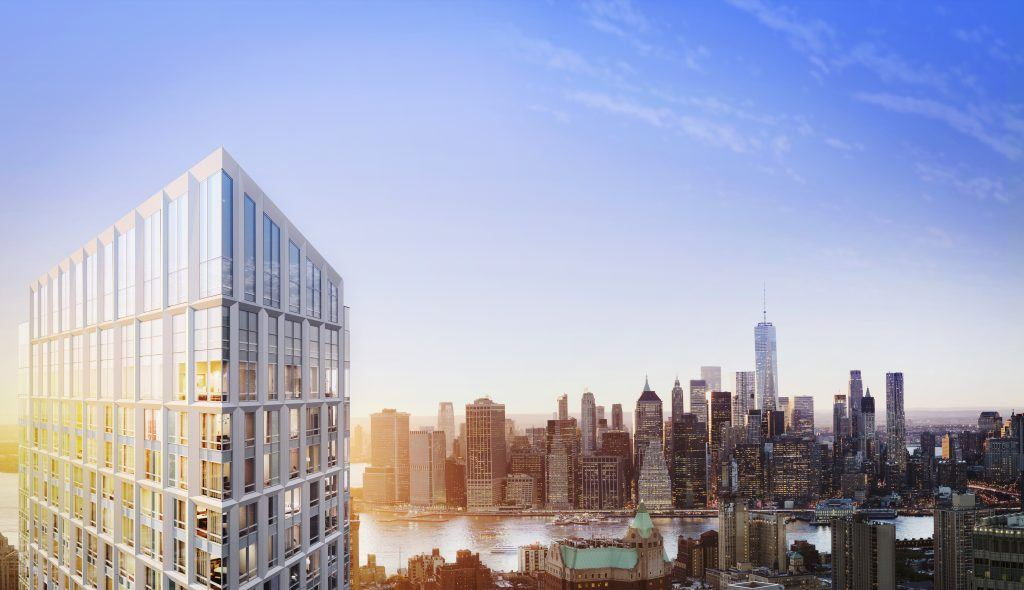 brooklyn point, kpf architects, extell development