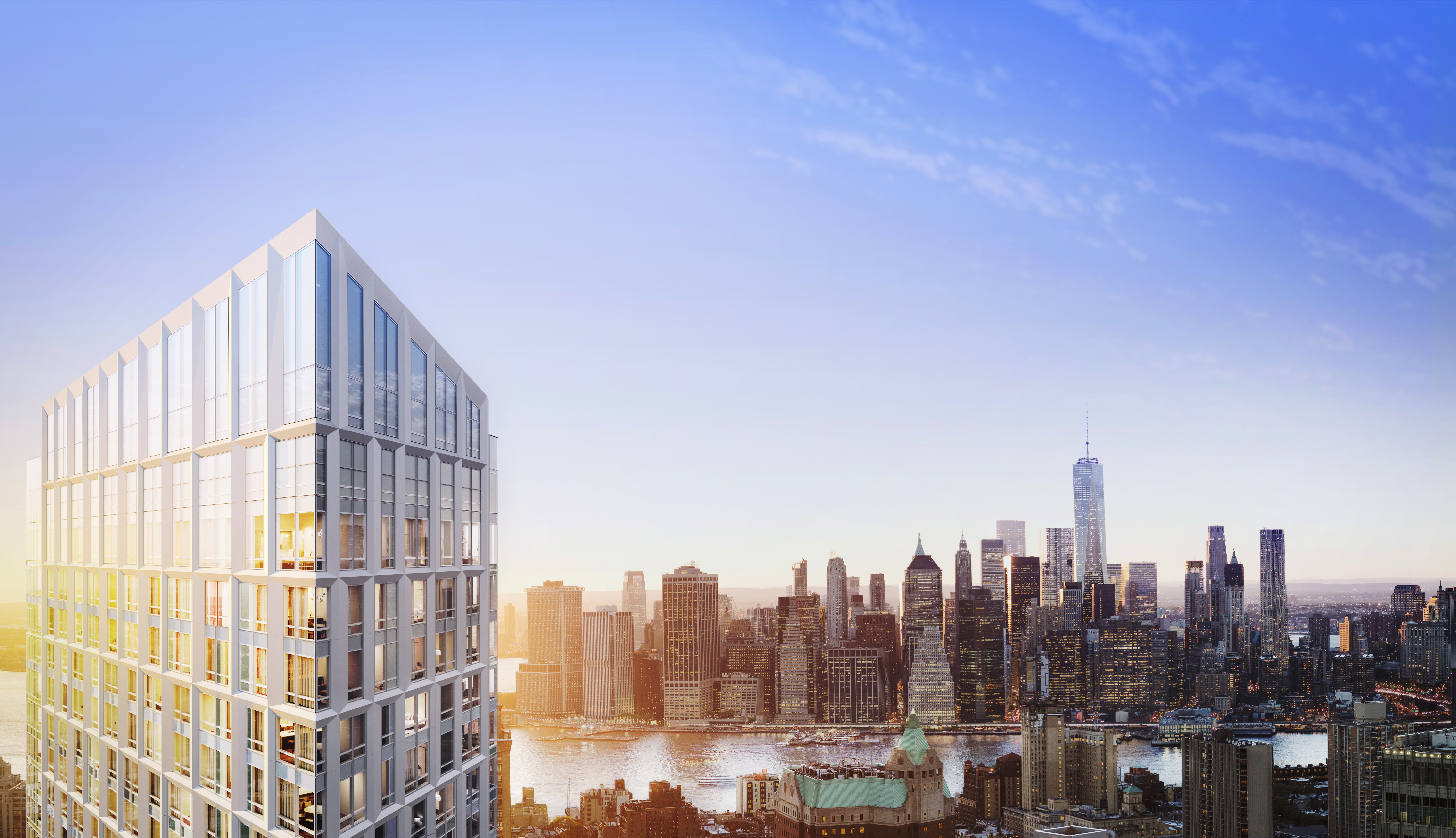 Brooklyn Point Extell Development S First Tower In The