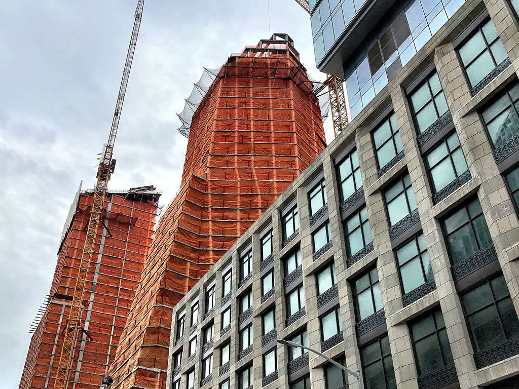 Rafael Vinoly S Three Waterline Square Tops Out First Of