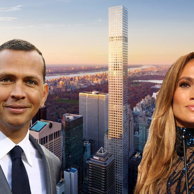 J.Lo and A-Rod go apartment hunting at 432 Park Avenue