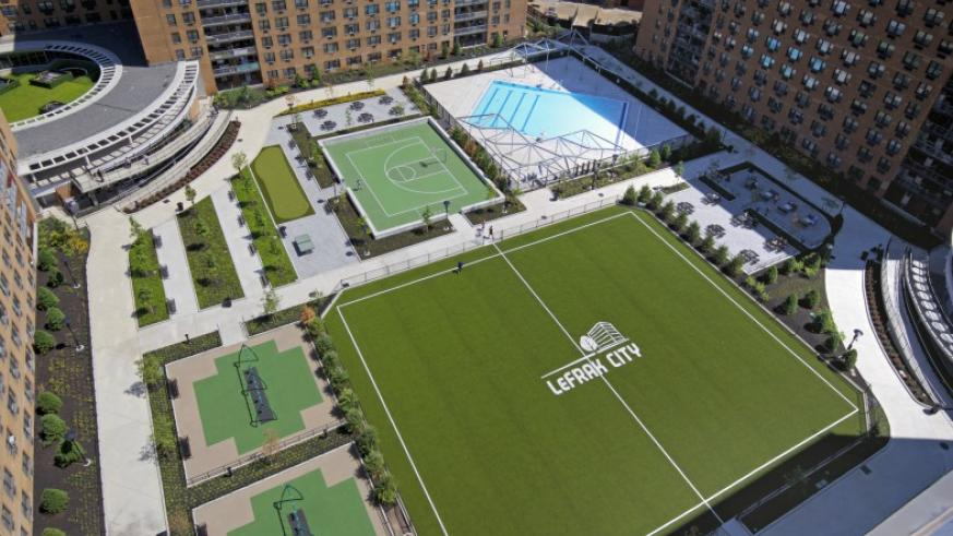 LeFrak City's $70M renovation brings a spectacular amenity space to Queens