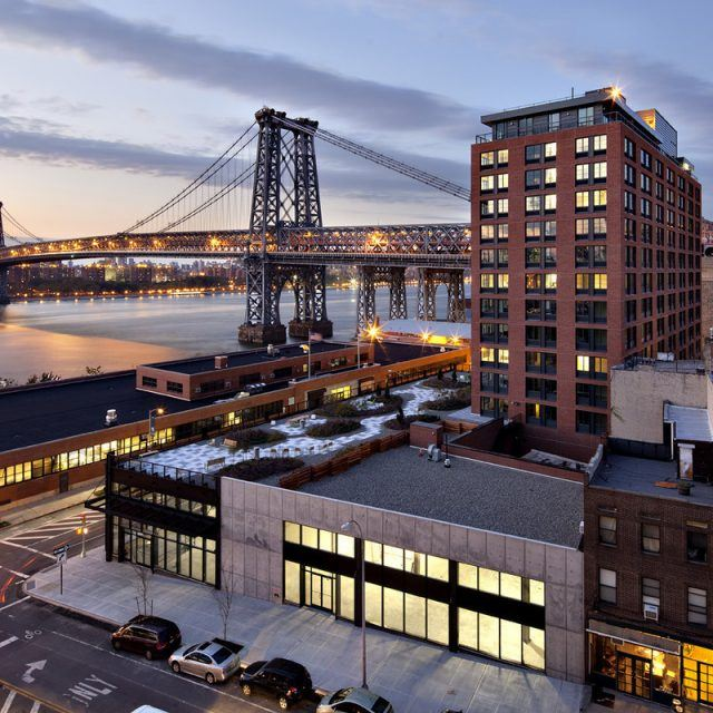 Live in a studio along the Williamsburg waterfront from $613/month
