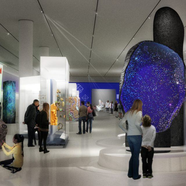 Museum of Natural History reveals designs for new Halls of Gems and Minerals