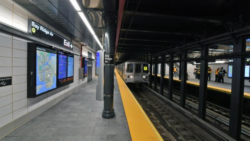 Bay Ridge Avenue R subway stop reopens with a modernized station