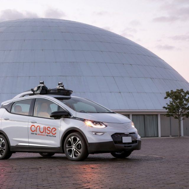 General Motors will bring self-driving cars to Manhattan in 2018