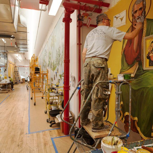 Where I Work: Inside the plaster and mural studios at Evergreene Architectural Arts