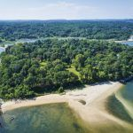 Dosoris Island, long island, north shore, private island, Junius Morgan, sotheby's