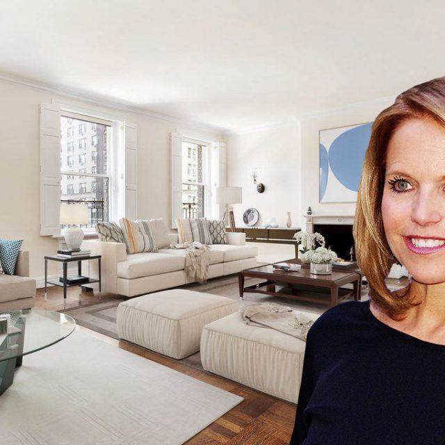 Katie Couric sells her Park Avenue pad for $7.8M