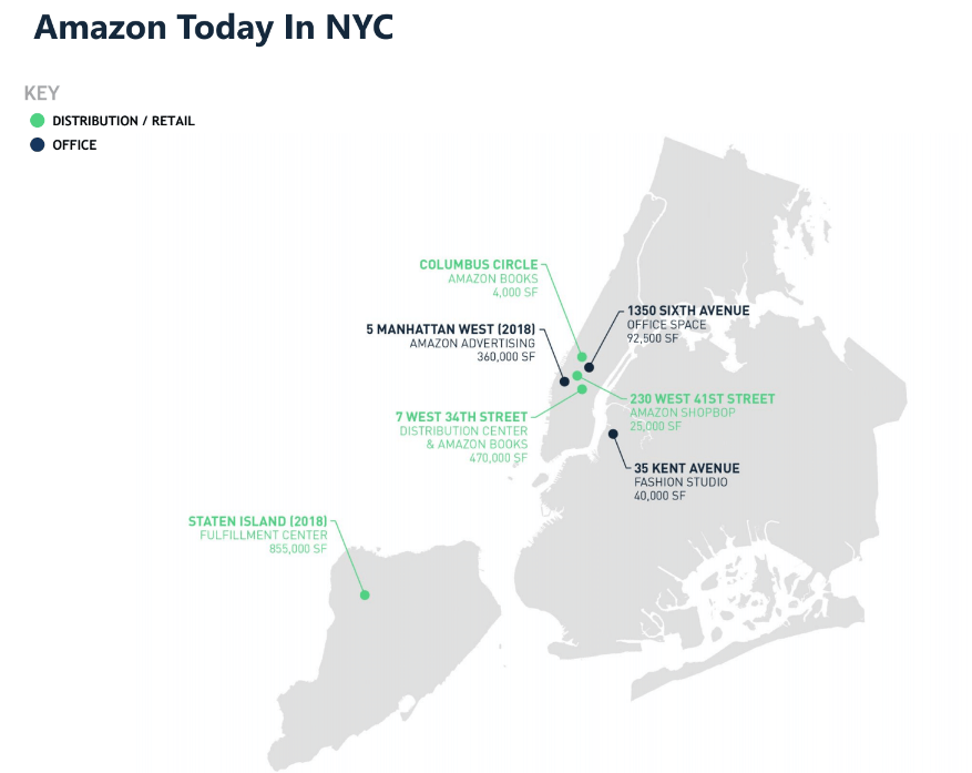 City officially pitches four neighborhoods for Amazon's ...