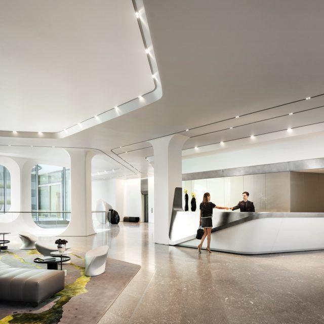 Zaha Hadid's 520 West 28th Street reveals full suite of amenity renderings