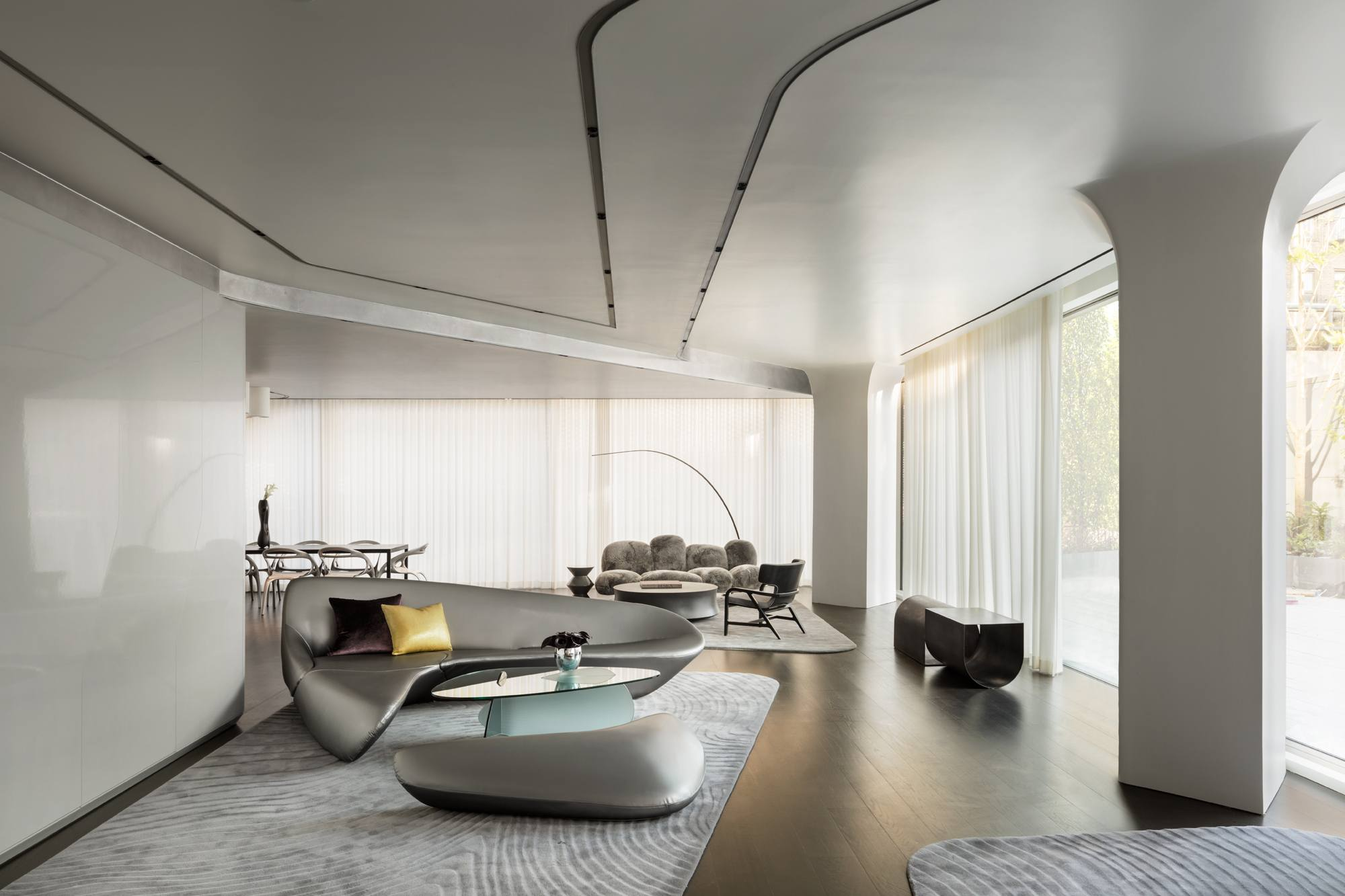 Zaha Hadid S 520 West 28th Street Reveals Full Suite Of