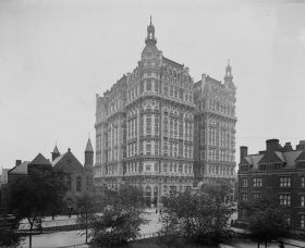 The Ansonia, Upper West Side history