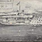 german u boat, central park, liberty day, 1917