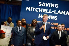 mayor bill de blasio, affordable housing, mitchell-lama