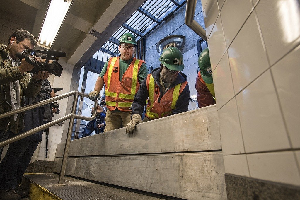 MTA, hurricane sandy, mta repairs