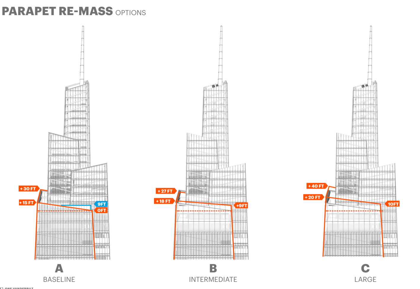 One Vanderbilts Outdoor Observation Deck May Tie For Highest In Nyc Tying A Diagram However New Details And Diagrams Uncovered By Ny Yimby Show That It Actually Stand At 1100 Feet The Citys