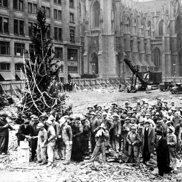 The history of the Rockefeller Center Christmas Tree, a NYC holiday tradition
