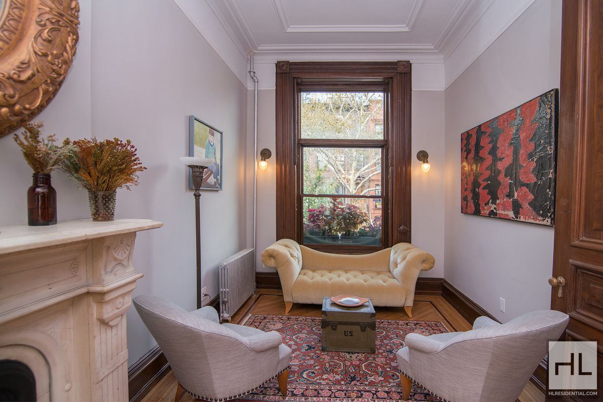 Rent a renovated bed stuy triplex with a deck yard and for The nanny house layout