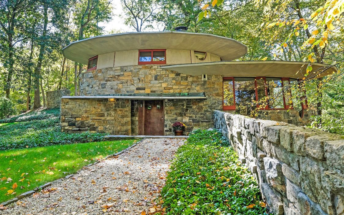 Lloyd Frank Wright Houses frank lloyd wright's mushroom-shaped house in westchester