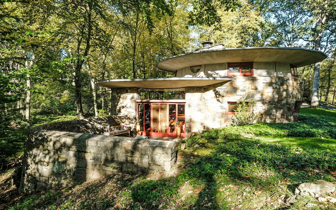 11 orchard brook drive, cool listings, frank lloyd wright, usonia, usonian house, westchester, pleasantville, sol friedman house, architecture, mid-century modern, modern houses, modern homes, modernism