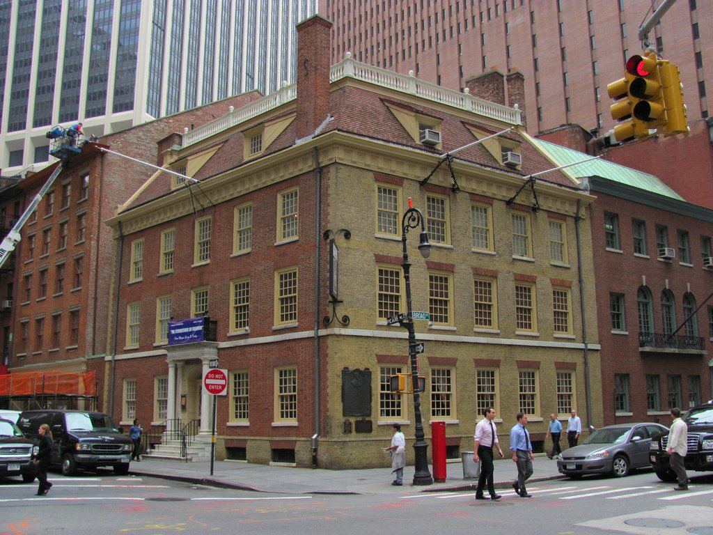 Fraunces Tavern, financial district, historic bars
