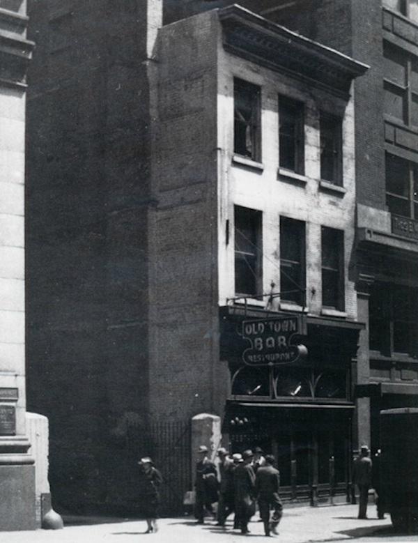 old town bar, nyc, historic bar