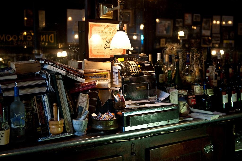 old town bar, flatiron, interior
