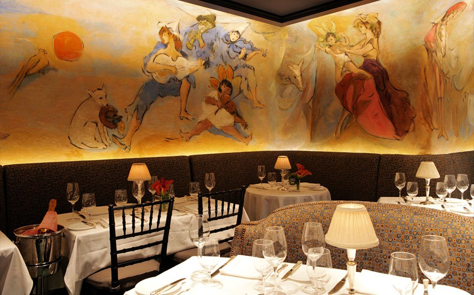 bemelmans bar, hotel carlyle, historic bars of nyc