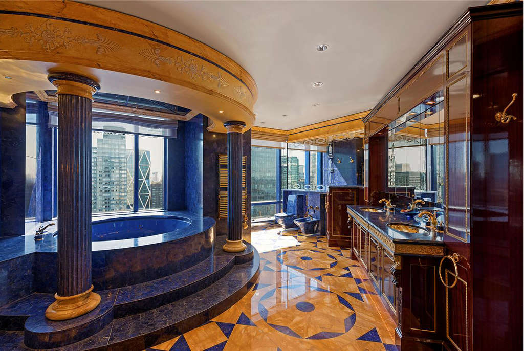 A Top Floor Apartment At Trump International Awash In