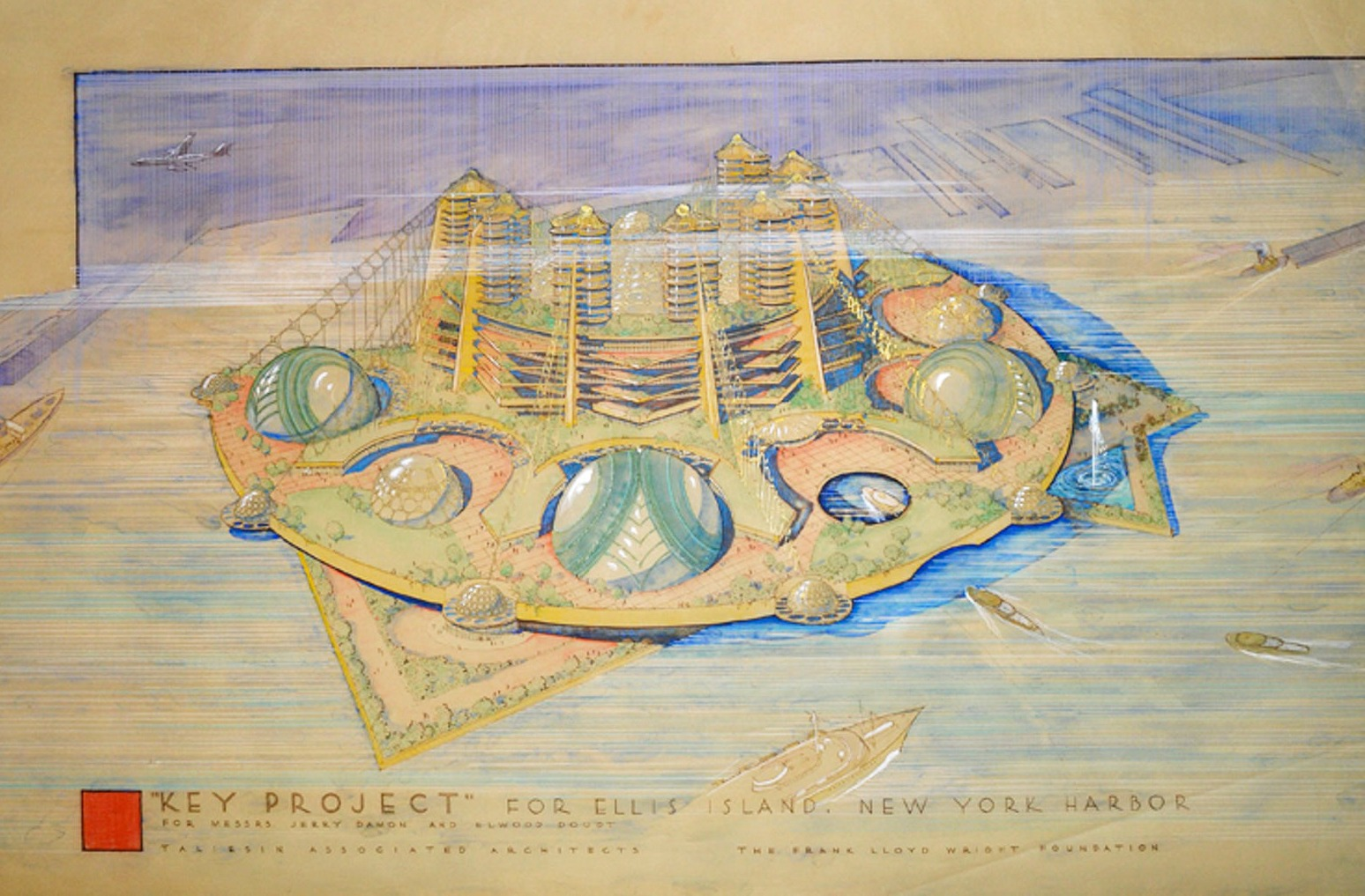 Key Project Ellis Island Wright