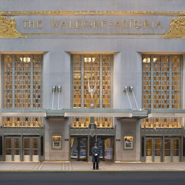 A new deal and more construction at Waldorf Astoria, though opening date is delayed