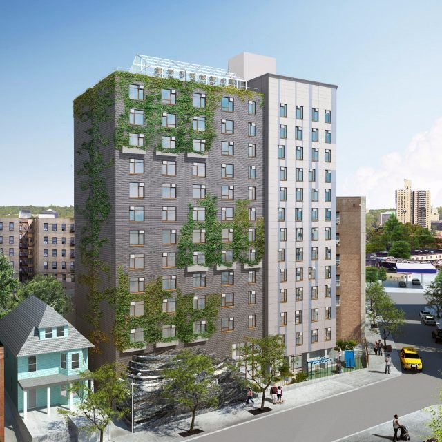 Live in an affordable Bronx building with a rooftop garden and greenhouse, from $883/month