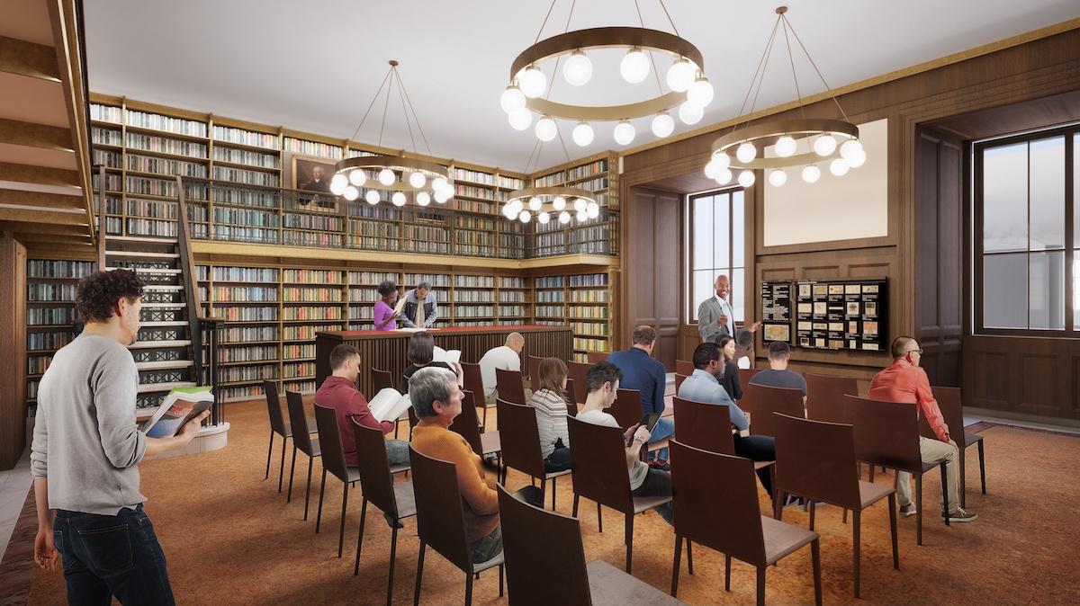 stephen a. scwartzman builing, new york public library, nypl, stacks, beyer blinder belle, mecanoo