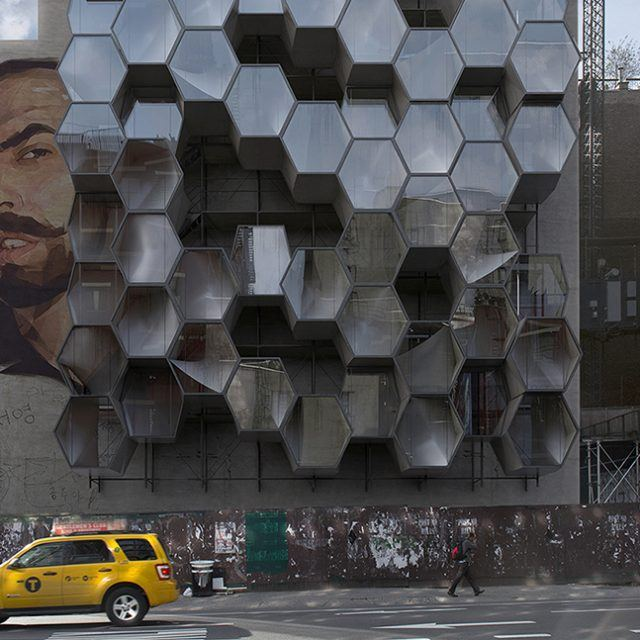 Framlab proposes 3D-printed modular microneighborhoods to shelter NYC's homeless