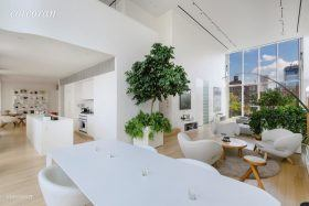 metal shutter houses, shigeru ban, penthouse, 524 west 19th street, rental
