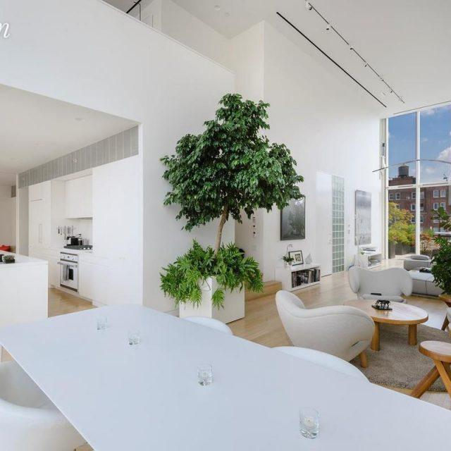 The penthouse at Shigeru Ban's Metal Shutter Houses tries its hand as a $25K/month rental