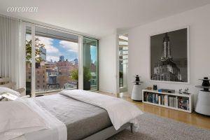 metal shutter houses, shigeru ban, penthouse, 524 west 19th street, rental